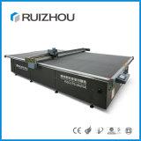 Ruizhou automatische lederne Brücke, die Ausschnitt-Maschine herstellt