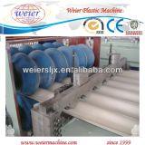 Chaîne de production glacée par PVC de toit d'onde