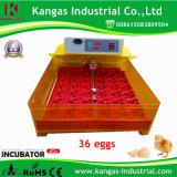 La Chine a fait à incubateur d'oeuf de caille le mini incubateur d'oeufs de /144quail