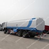 판매를 위한 Sinotruk HOWO 유조 트럭 물 브라우저 물뿌리개 살포 트럭