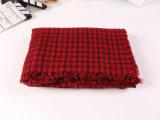 Echarpe tricotée à l'écharpe à l'écharpe Pashmina pour les hommes et les femmes