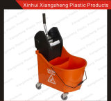 Фабрика Direct Sale Mop Wringer Double Buckets для Hotel и Restaurant