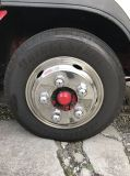 Il camion di Beishuo parte le protezioni del centro di rotella del coperchio di rotella dell'acciaio inossidabile per il bus