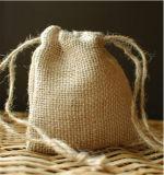 Sacchetto del pacchetto del caffè del sacchetto di Drawstring della tela da imballaggio dell'OEM con il prezzo poco costoso