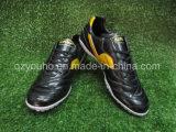 Sapatas internas conservadas em estoque do futebol do futebol para homens