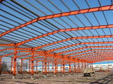 Beben, das heißer galvanisierter Stahlkonstruktion-Werkstatt widersteht