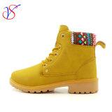 2017人の新しい注入の人の女性の安全働き作業は起動する靴(SVWK-1609-008 TAN)を