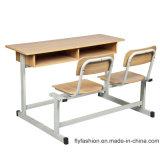 Escritorio y silla Escuela Muebles Aula Doble Estudiante (SF-58A)