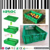 Caisse en plastique pliante de fruits et légumes