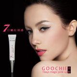Maquillaje permanente de Goochie color de rosa mágico de 7 días encima del lustre del labio