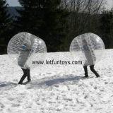 Esfera abundante do brinquedo inflável, jogo do Bola de Giga Zorb da bolha do futebol do futebol do corpo humano