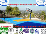 Sport Court Suelos RoHS, DIN estándar Baloncesto Deportes Suelo