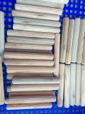 Poinçon en bois (bouleau, eucalyptus, hêtre) / Taille de chevilles en bois 8.5X45mm 16.5X50mm Vente au Pérou