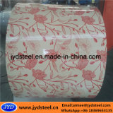 Декоративная катушка конструкции PPGI материала толя стальная