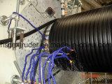 Ligne enroulée en spirale d'extrusion de pipe de HDPE (300-1200)