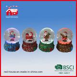 안쪽으로 주문 기념품 눈 지구 크리스마스 선물 Waterball 산타클로스
