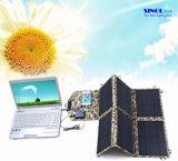 Carregador solar USB 40W de 2 portas DC USB com painel solar dobrável 40 Watt para carregamento ao ar livre para laptop (FSC-40B)