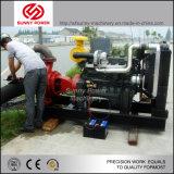 Weichaiのディーゼル機関によって動力を与えられる砂ポンプ