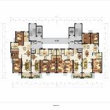 Het buitenlandse Ontwerp van de Lay-out van het Type van Huis van de Villa