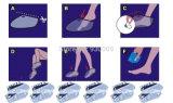 Die tote Haut-Häutchen-Ferse Pedicure Socken-Fuss-Schalen-Schablonen-Haut löschen, die Fuss-Schablone weiß werden Exfoliating ist