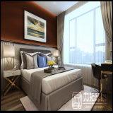 План плана конструкции комнаты кровати гостиницы нутряной