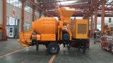 Bomba concreta autoflutuanta de motor Diesel com o fornecedor de China do misturador