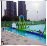Linha reta tipo combinado preço de fábrica inflável do parque do Aqua do orçamento limitado