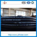 le fil d'acier 4sp a renforcé le boyau hydraulique couvert par caoutchouc