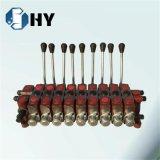 DL20 9スプールの油圧方向弁の二重代理のねずみ鋳鉄