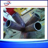 Cortadora cuadrada del plasma del CNC del tubo de la sección de la depresión del tubo de 8 ejes