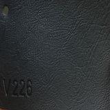 Cuir synthétique d'unité centrale Microfiber de PVC de type italien pour le sofa (HS-QF09)