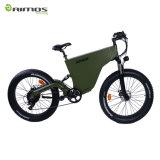 Bici eléctrica de la ciudad del neumático gordo lleno de la suspensión