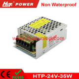 24V-35W alimentazione elettrica non impermeabile costante di tensione LED