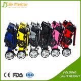 2017 cadeiras de rodas motorizadas elétricas Foldable ultra leves para enfermos
