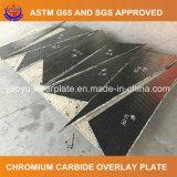 Desgaste - placa de acero resistente para el mezclador de cemento