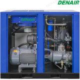 60 compresseur d'air rotatoire lubrifié de vis d'entraînement direct de la HP 8bar
