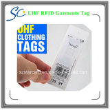 Etiqueta modificada para requisitos particulares de la ropa de la frecuencia ultraelevada RFID