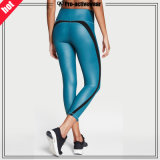 Custom Reflective Silver Logo Mulheres Leggings Sexy Yoga Pants