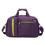紫色ポリエステル男女兼用旅行袋