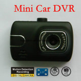 Mini traço novo DVR do carro 1.5inch com a câmera do carro 5.0mega, G-Sensor; Registrador de Digitas do laço, caixa negra DVR-1510 do carro
