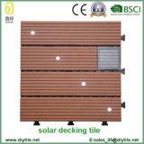 Плитки пола строительного материала водоустойчивые WPC высокого качества солнечные светлые
