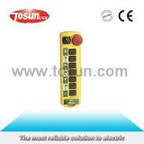 Interruptor de pulsador sin hilos teledirigido industrial del transmisor