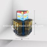 Petit étalage acrylique de compteur de brosse à dents pour la mémoire