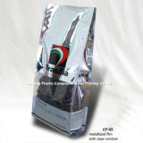 Quad Sealed Plastic Bag Coffee
