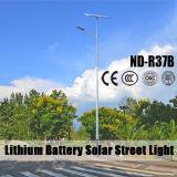 (ND-R37B) Напольная солнечная улица Lightssolar освещает изготовления с сертификатом ISO9001