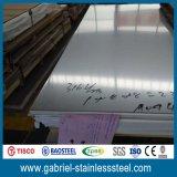 precio inoxidable de la placa de acero 2b 410 de 0.5m m por el kilogramo