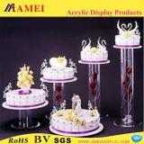 破裂音のアクリルのケーキはウエディングケーキかアクリルの立場(AM-C083)を意味する