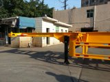 40 Fuß 3 Wellen-skelettartiger Behälter-Schlussteil-Sigel-Reifen-