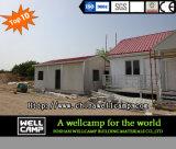 Casa prefabricada ligera de lujo de la estructura de acero para el chalet