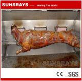 Nenhum queimador infravermelho, segurança e proteção ambiental do BBQ do fumo